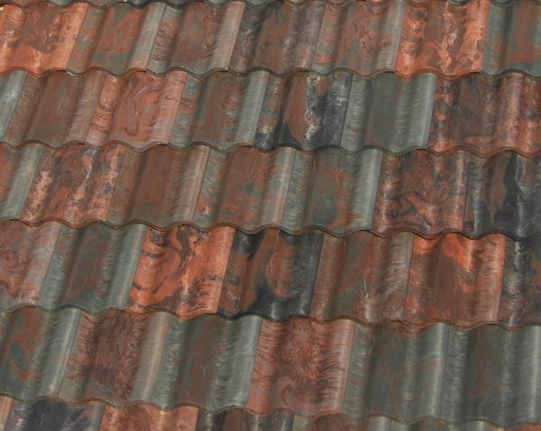 Tile roof vintage roof tile for Spanish style roof tiles